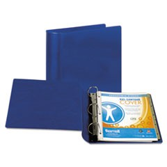 "Top Performance DXL Angle-D View Binder, 2"" Capacity, Dark Blue"