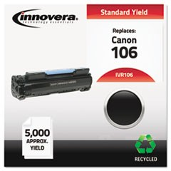 Remanufactured 0264B001 (106) Toner, 5000 Page-Yield, Black