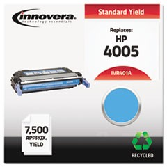Remanufactured CB401A (642A) Toner, 7500 Page-Yield, Cyan