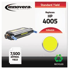 Remanufactured CB402A (642A) Toner, 7500 Page-Yield, Yellow