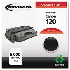 Remanufactured 2617B001 (120) Toner, 5000 Page-Yield, Black