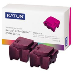Compatible 108R00927 Solid Ink Stick, 4400 Page-Yield, Magenta