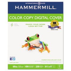 Copier Digital Cover Stock, 60 lbs., 8 1/2 x 11, Photo White, 250 Sheets