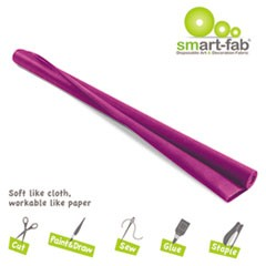 Smart Fab Disposable Fabric, 48 x 40 roll, Dark Purple