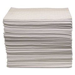"Oil Only Sorbent Pad 15""x17"", Heavy-Weight"