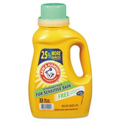 HE Compatible Liquid Detergent, Unscented, 50 oz Bottle, 8/Carton
