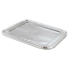 Steam Table Pan Foil Lid, Fits Half-Size Pan, 12 13/16 x 10 7/16