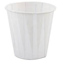 Paper Drinking Cups, 3.5oz, White, 2500/Carton