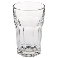 "Gibraltar Glass Tumblers, Beverage, 10 oz, 4 3/4"" Tall"