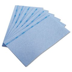 Food Service Towels, 13 x 24, Blue, 150/Carton