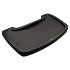 Sturdy Chair Microban Youth Seat Tray, Plastic, Dark Green, 18.5 x 11.5 x 3.25