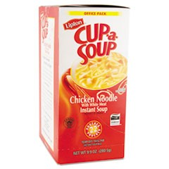 Cup-a-Soup, Chicken Noodle, Single Serving, 22/Box