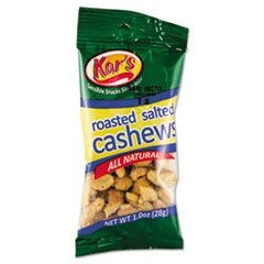Nuts Caddy, Salted Cashews, 1oz Packets, 30/Box
