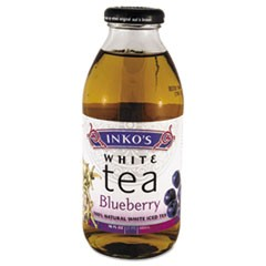 Ready-To-Drink Blueberry White Tea, 16oz Bottle, 12/Carton