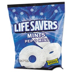 Hard Candy Mints, Pep-O-Mint, Individually Wrapped, 6.25oz Bag