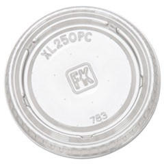 Portion Cup Lids, Fits 1.5-2.5oz Cups, Clear