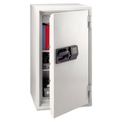 Commercial Safe, 5.8 ft3, 25-1/2w x 23-7/8d x 47-5/8h, Light Gray