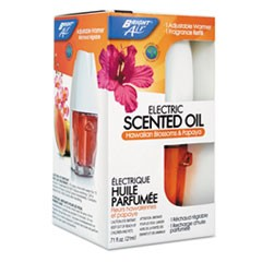 Electric Scented Oil Air Freshener Warmer & Refill, Hawaiian Blossoms & Papaya