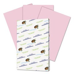 Recycled Colored Paper, 20lb, 11 x 17, Lilac, 500 Sheets/Ream