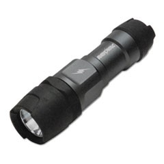 Virtually Indestructible LED Flashlight, 3 AAA Batteries (Included), Black