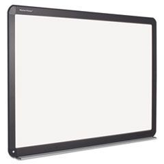 Interactive Magnetic Dry Erase Board, 51.2 x 39.68 x 4.2, White/Black Frame
