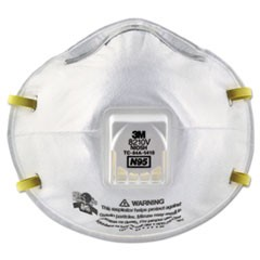 Particulate Respirator 8210V, N95, Cool Flow Valve, 10/Box