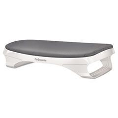 I-Spire Series Foot Cushion, 17 3/8w x 11 5/8d x 4 1/2h, White/Gray