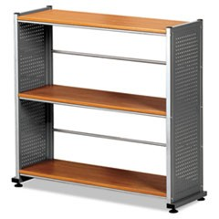 Eastwinds Accent Shelving, Three-Shelf, 31-1/4w x 11d x 31h, Medium Cherry
