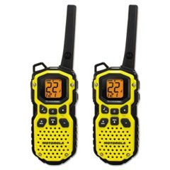 Talkabout MS350R Two Way Radio, 1 Watt, GMRS/FRS, 22 Channels, 1 Pack