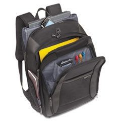 "Sterling 16"" CheckFast Backpack, 13 3/4 x 6 1/2 x 17 3/4, Black"