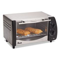 Toaster Oven, 9 Liter Capacity, Stainless Steel/Black