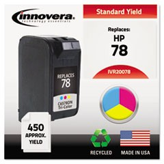 Remanufactured C6578DN (78) Ink, 450 Page-Yield, Tri-Color