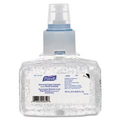 Advanced Green Certified Instant Hand Sanitizer Refill Gel, 700 mL, 3/Carton