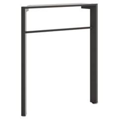 Manage Series Desk Leg, Steel, 2-1/4w x 23-1/2d x 28-1/2h, Ash