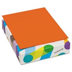 BriteHue Multipurpose Colored Paper, 20lb, 8 1/2 x 11, Orange, 500 Shts/Rm