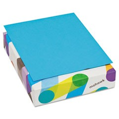 BriteHue Multipurpose Colored Paper, 20lb, 8 1/2 x 11, Blue, 500 Shts/Rm