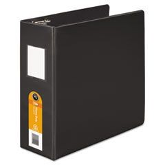 Heavy-Duty D-Ring Binder w/Extra-Durable Hinge, 4