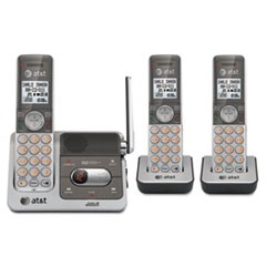 CL82301 Cordless Digital Answering System, Base and 2 Additional Handsets