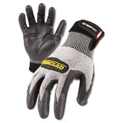 Cut Resistant Stainless Steel, Nylon-Mesh Gloves, Black, X-Large, Pair
