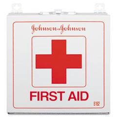 Industrial First Aid Kit for 50 People, 225-Pieces, White Metal Case