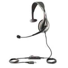 UC Voice 150 Monaural Over-the-Head Corded Headset, Microsoft Certified