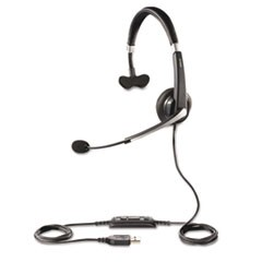 UC Voice 550 Monaural Over-the-Head Corded Headset, Microsoft Certified
