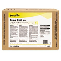 Suma Break-Up Heavy Duty Foaming Grease-Release Cleaner, 5 gal Envirobox