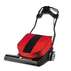 "SPAN Wide Area Vacuum, 28"" Cleaning Path, 74 lbs, Red"