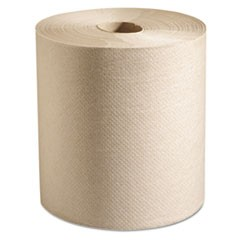 100% Recycled Hardwound Roll Paper Towels, 7 7/8 x 800 ft, Natural, 6 Rolls/Ct