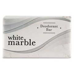 Individually Wrapped Deodorant Bar Soap, White, .75oz Bar, 1000/Carton