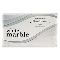 Individually Wrapped Deodorant Bar Soap, White, 1.5oz Bar, 500/Carton