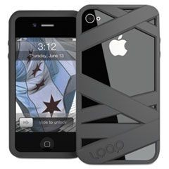 Loop Mummy Case for iPhone 4/4S, Graphite