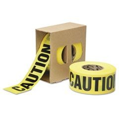 "9905016134244, Caution Barricade Tape, 2 mil Thick, 3"" w x 1000 ft, Roll"