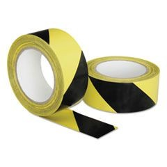 "7510016174251, Marking Tape, Yellow/Black, 2"" x 108 ft Roll"